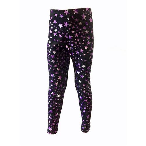 Pizzazz Superstar legging paars