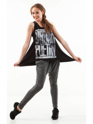 Skazz Urban Dance top donkergrijs