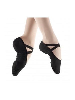 So Danca Balletschoen normale/smalle voet ZWART