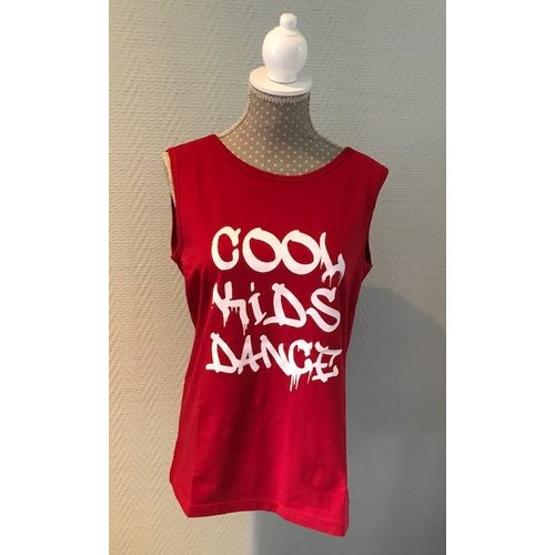 Skazz Danstop Cool Kids Dance rood