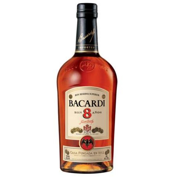 8J. Bacardi 8 ans Superior - 70cl