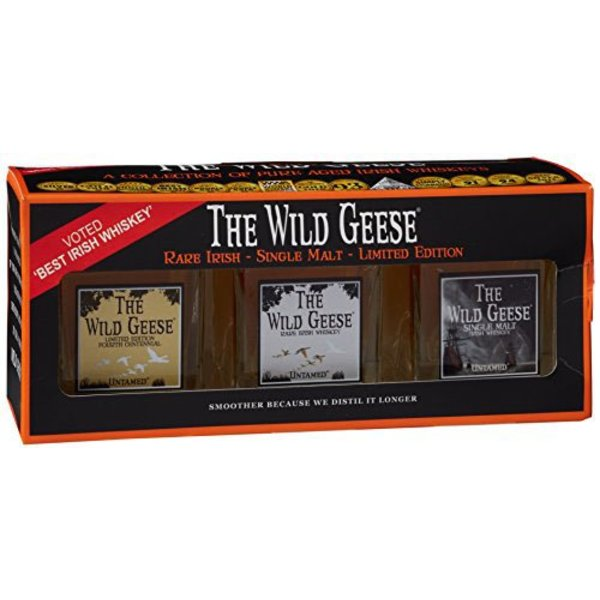 The Wild Geese Miniature Set 3x5cl
