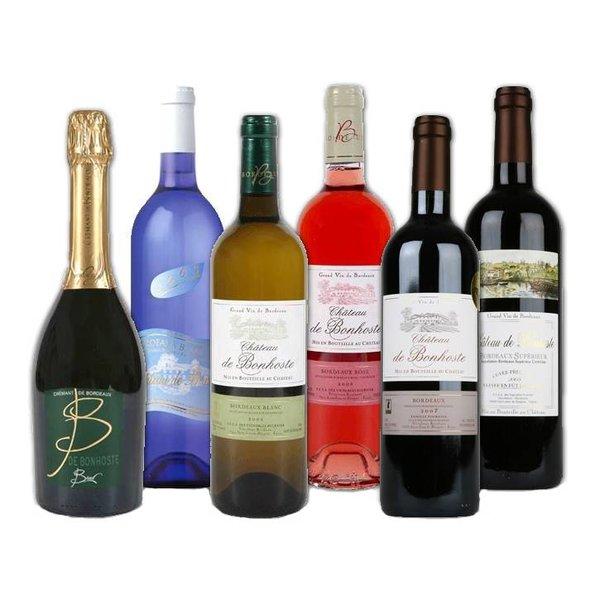 Assortment Château de Bonhoste (6 bottles)