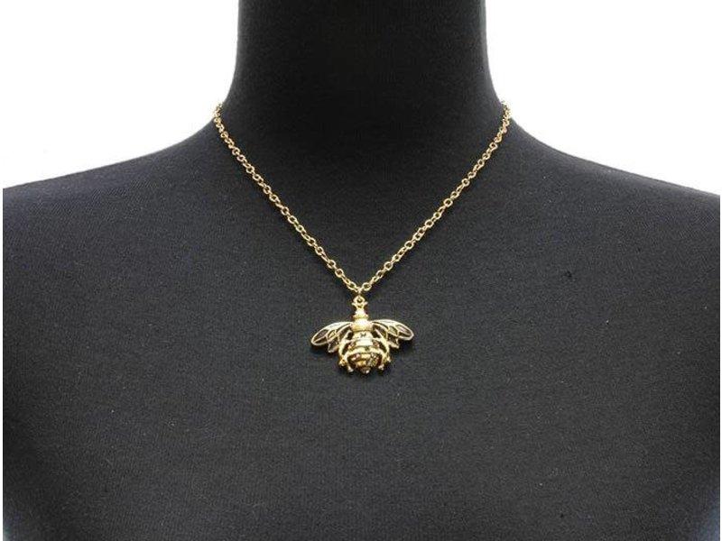 MT Flügel Halskette