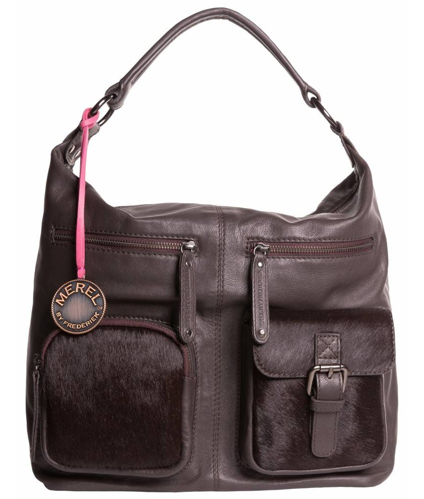 Merel By Frederiek Love me Bag Brown