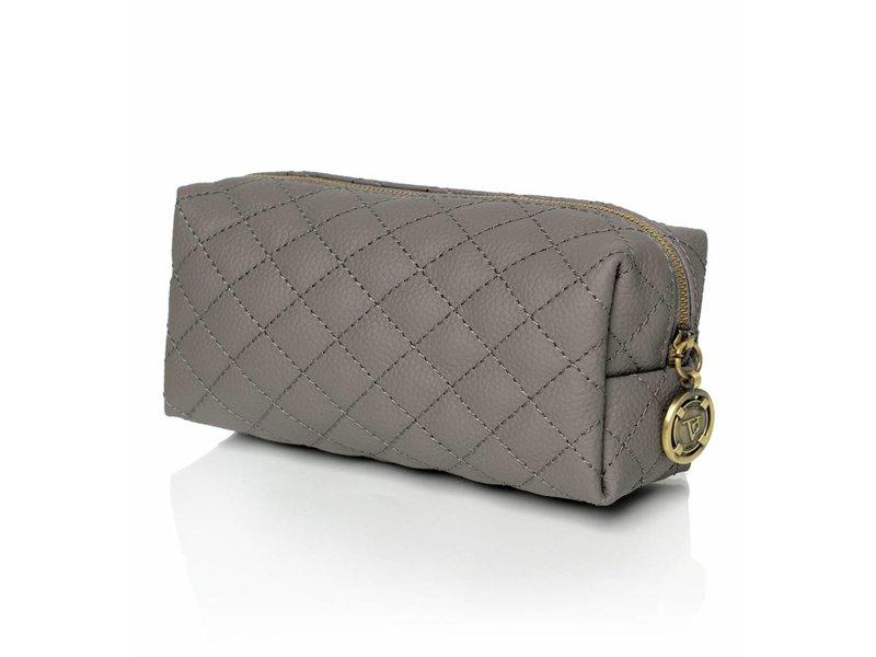 TOV Vanity Cosmetic Bag Grey