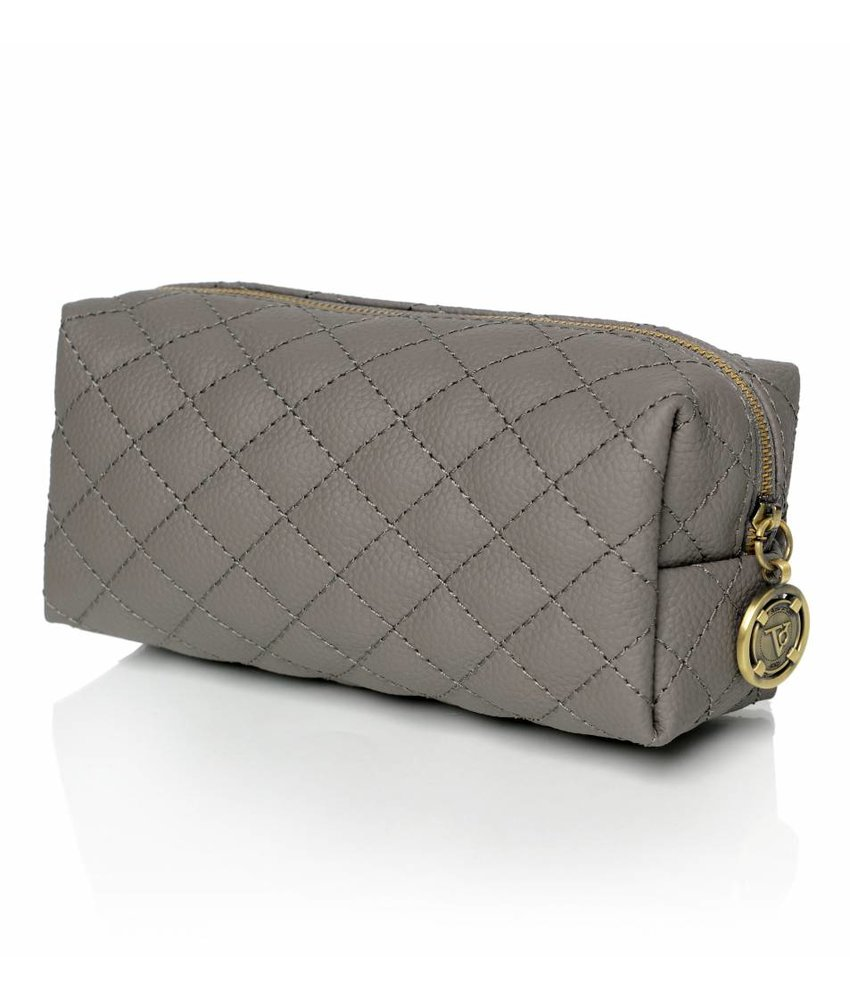 TOV Vanity Cosmetic Bag Grey