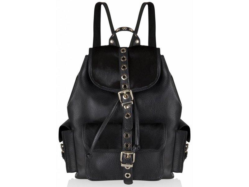 Supertrash Backrider Black Bag