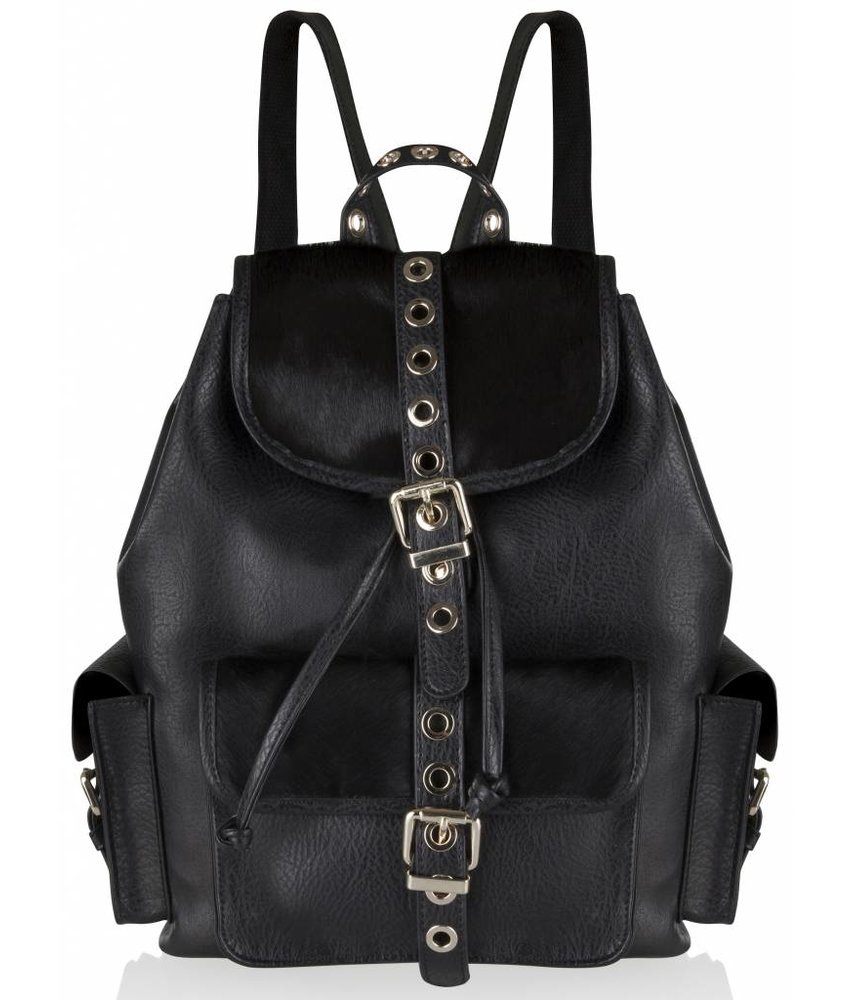 Supertrash Backrider Black Bag