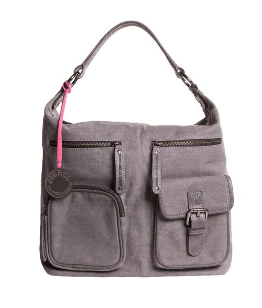 Merel By Frederiek Love Me Bag Grijs