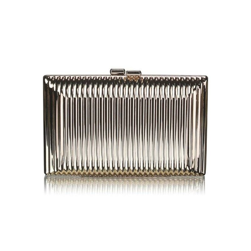 MT Gold Hard Case Clutch-Bag