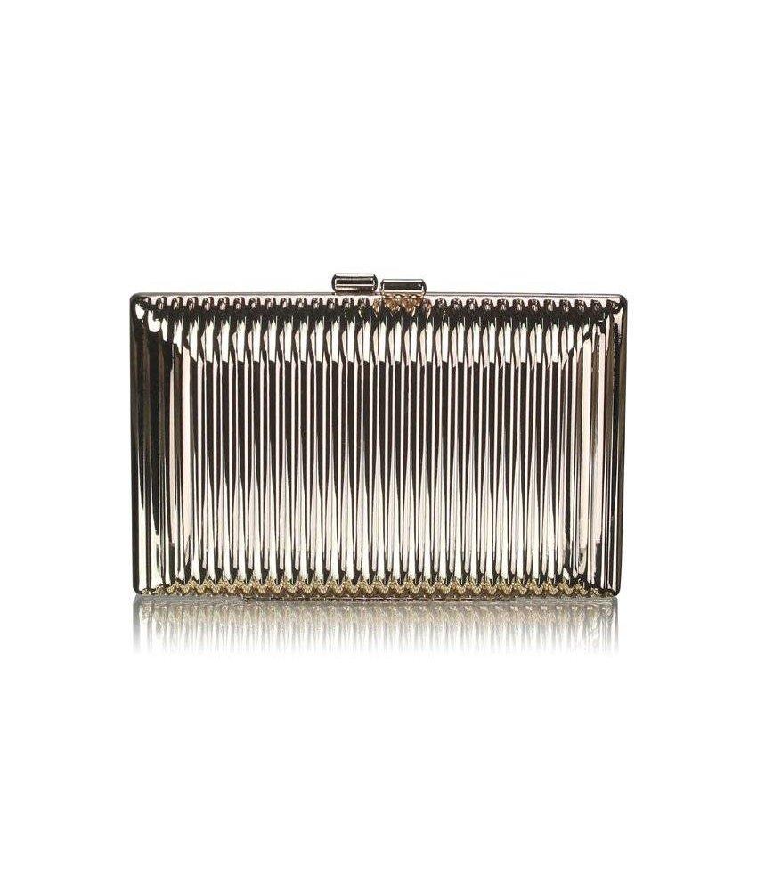 MT Gold Hardcase Clutch Bag