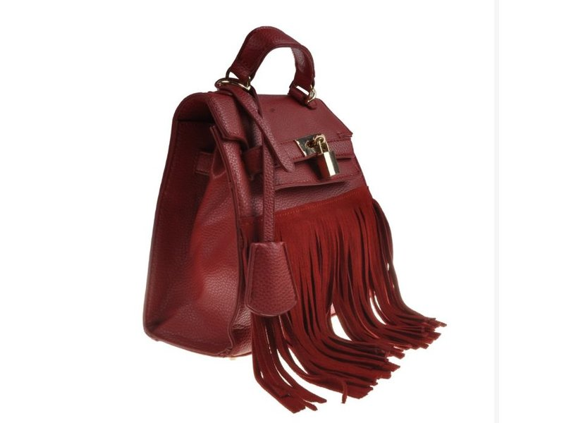 MT Heather Handbag Red