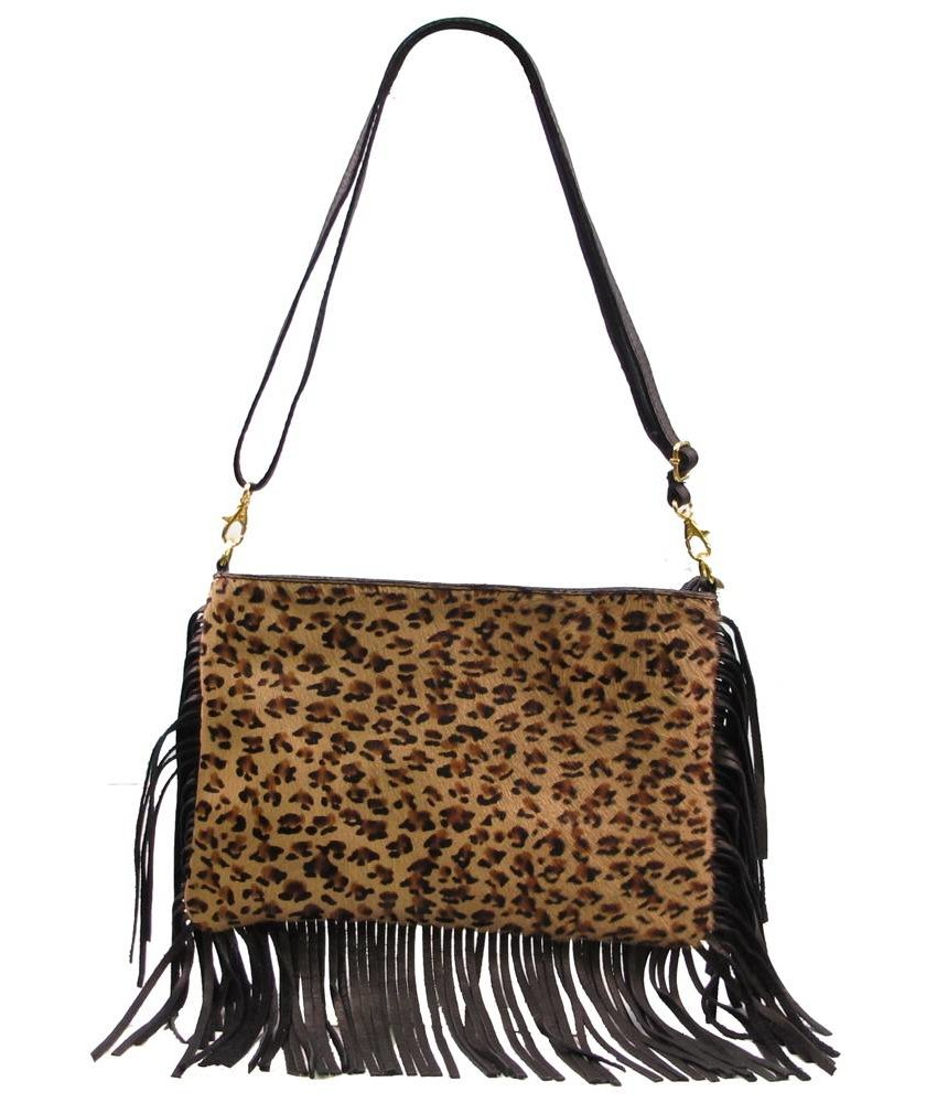 MT Janny Leather Handbag Black