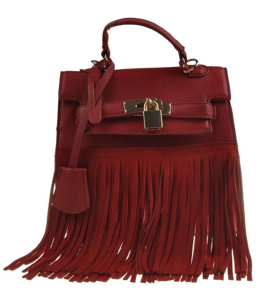 MT Heather Handbag Red