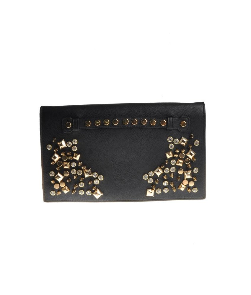 MT Karen Clutch Bag Black