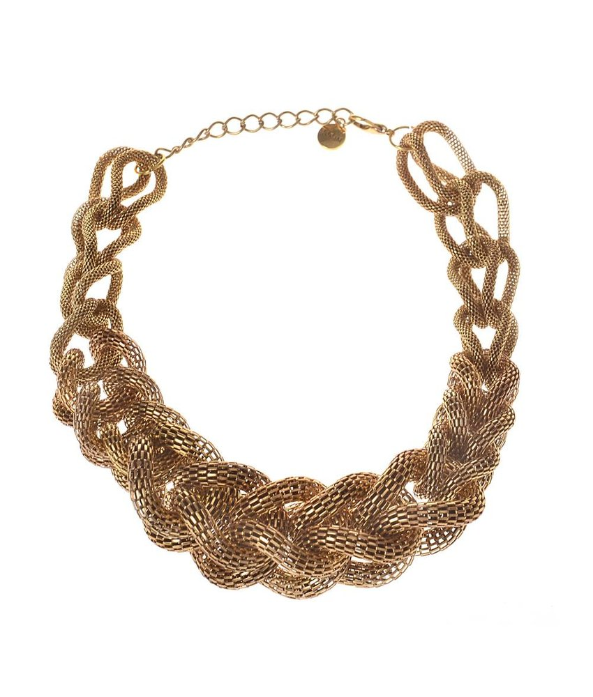 MT Aron Necklace Gold