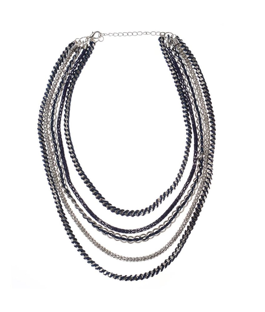 MT Stan Necklace Navy