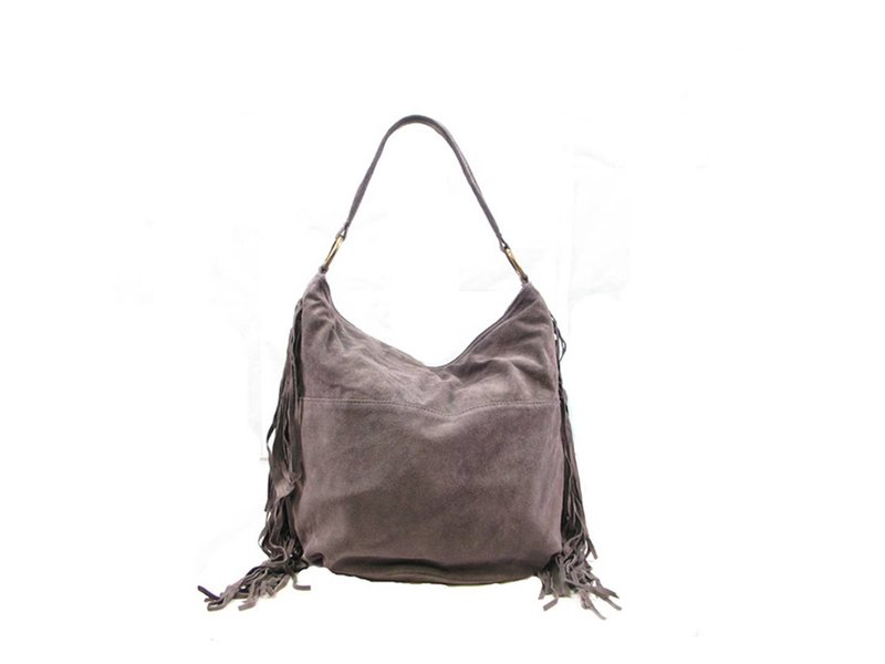 MT Ness Leather Bag Grey