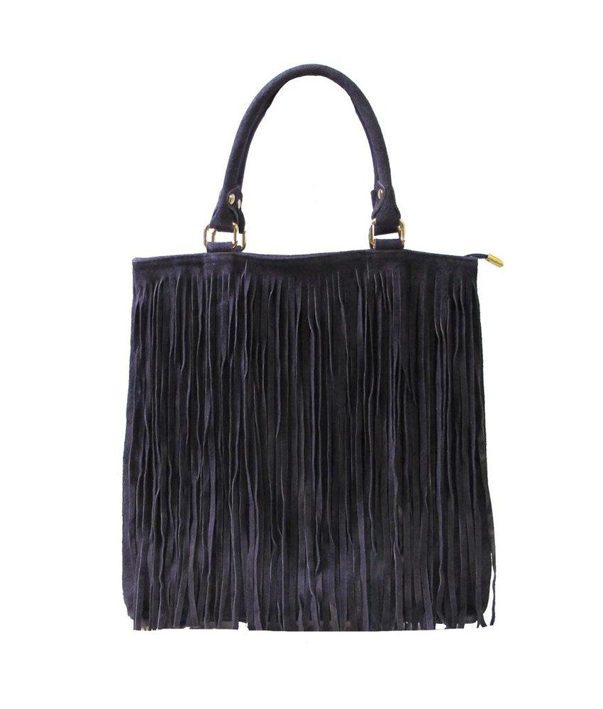 MT Dijk Leather Bag Blue