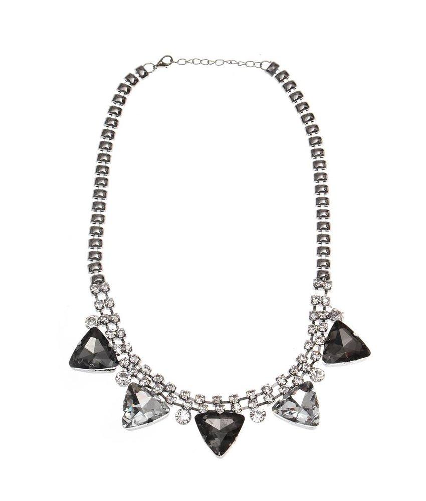 MT Außen-Silber-Halskette