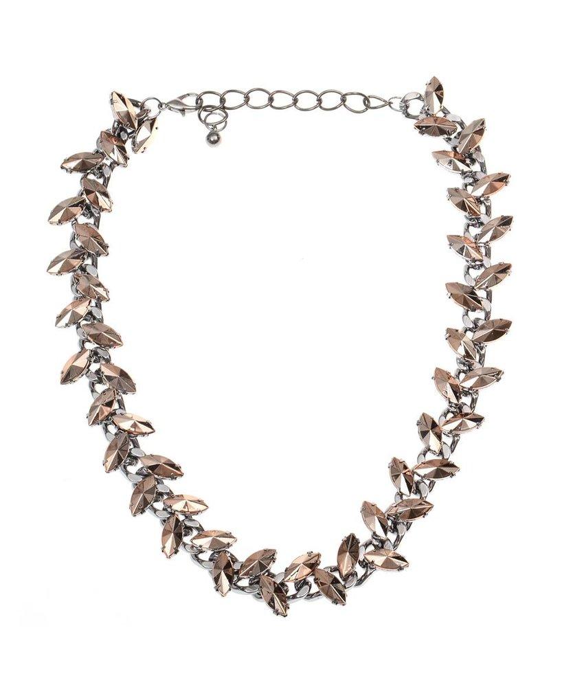 MT Gefährliche Halskette Gold
