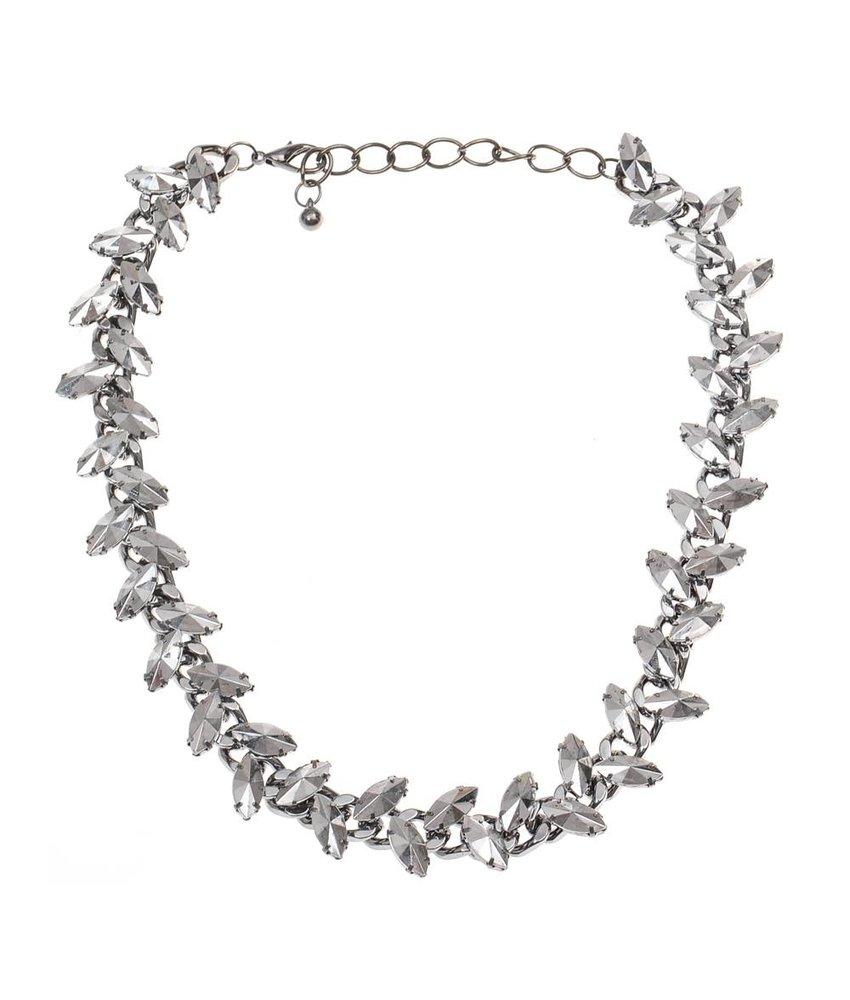 MT Gefährliche Halskette Silber