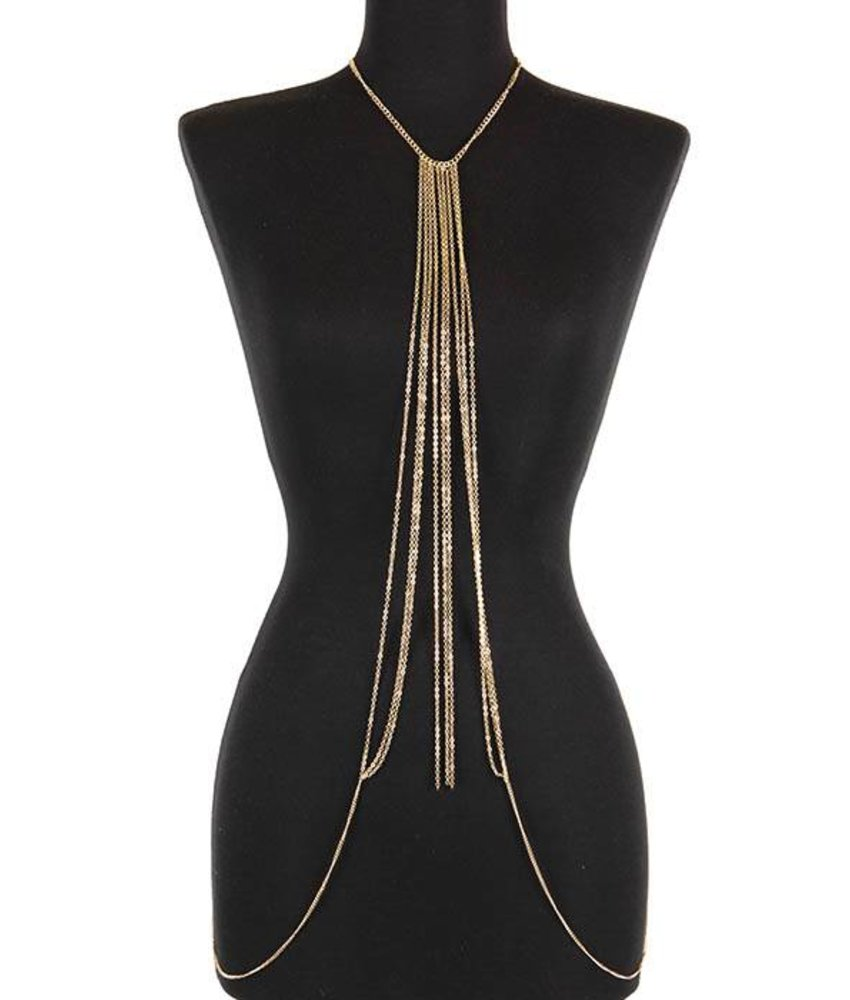 MT War Bodychain Gold