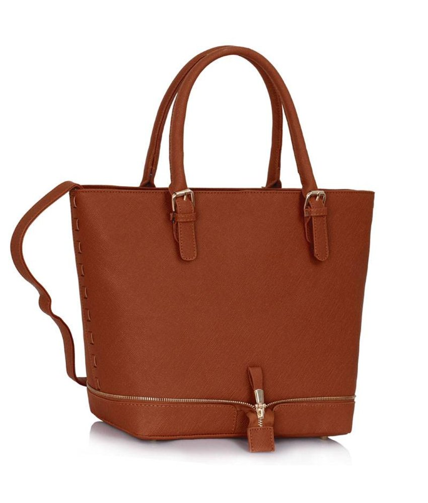 MT Home to mama Bag Brown