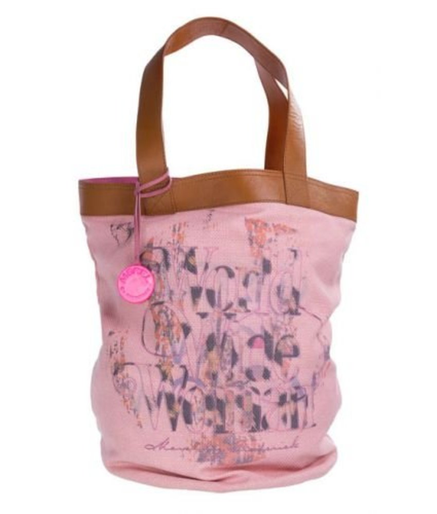 Merel By Frederiek Miss Miami Bag, Powdery Pink