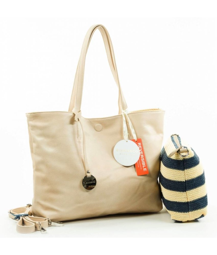 MT Policeman Bag Navy Beige