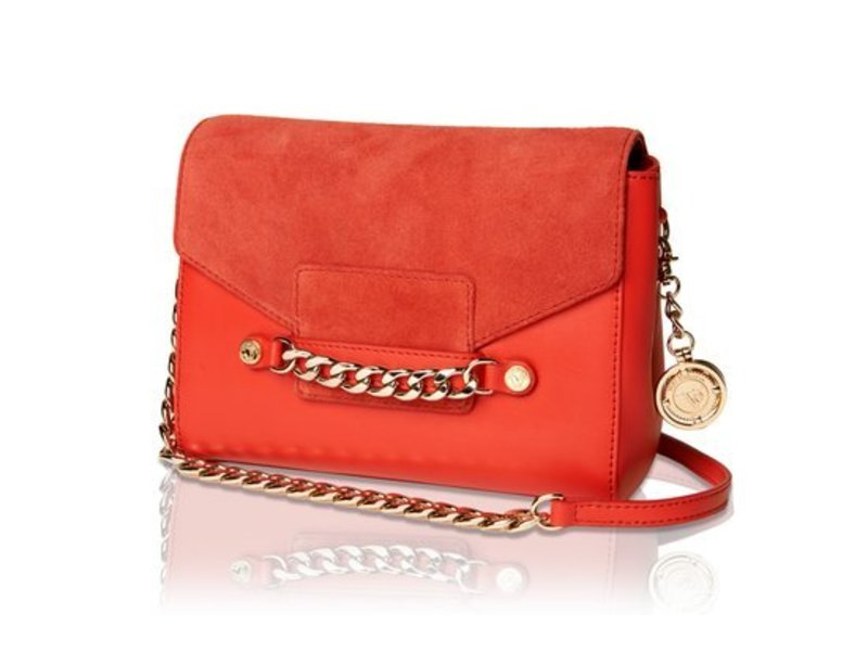 TOV Jane Shoulder Bag Red
