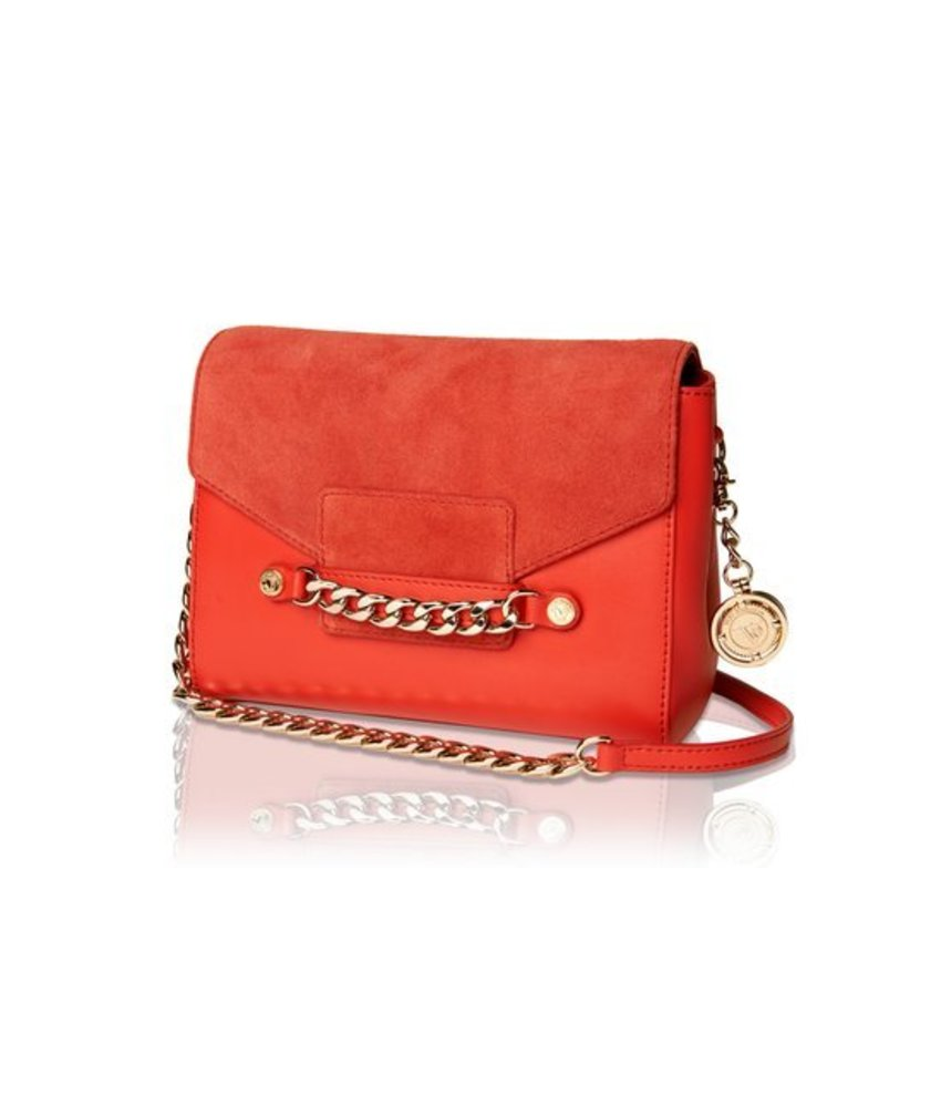 TOV Jane Shoulder Bag Red