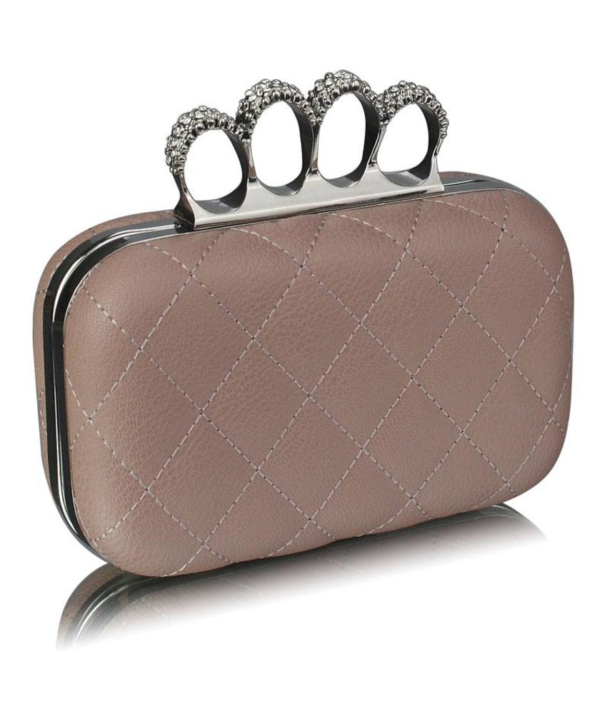 MT Elsa Clutch Nude