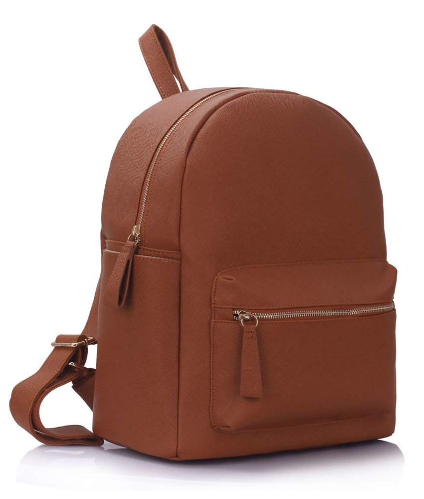 MT Can't feel my face Backpack Brown