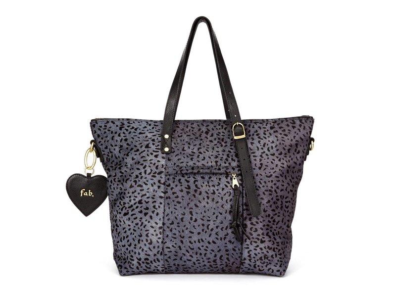 FAB Chirenguitto Bag Grau Cheetah