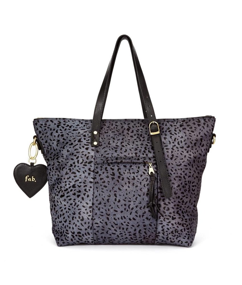 FAB Chirenguitto Bag Grau Cheetah