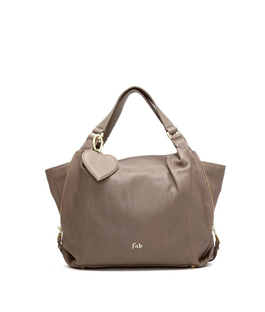 FAB Claire Bag Small Taupe