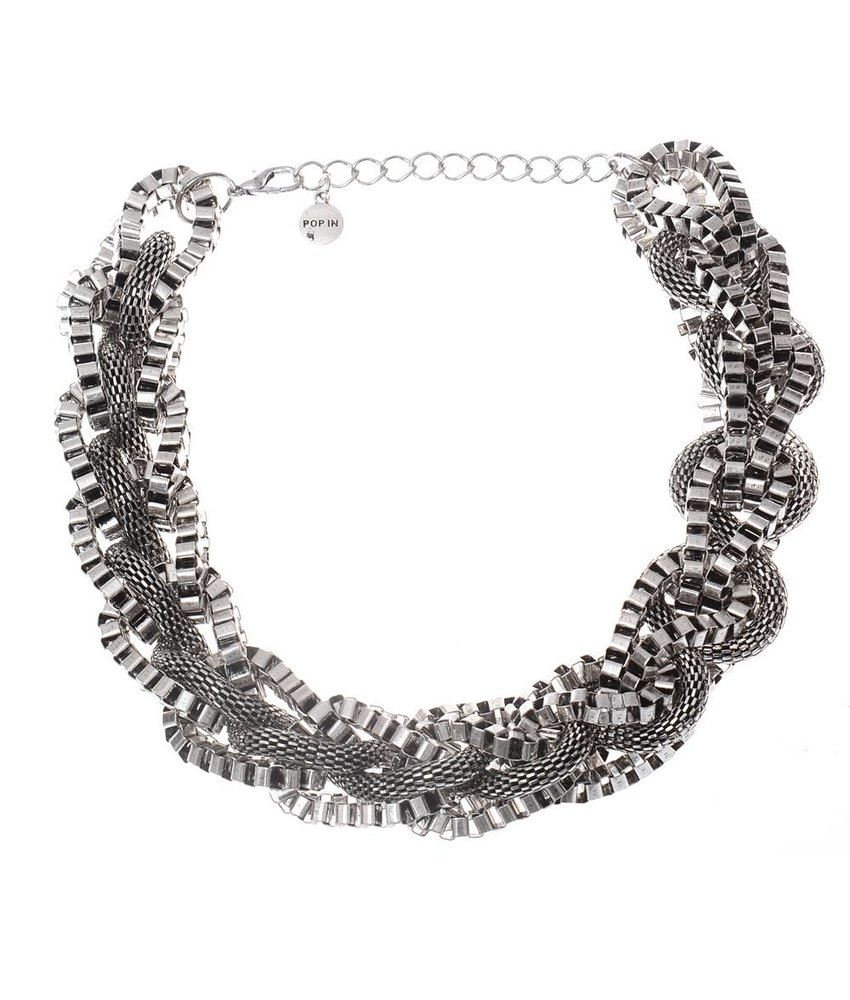 MT MT Ibiza Necklace Silver Grey