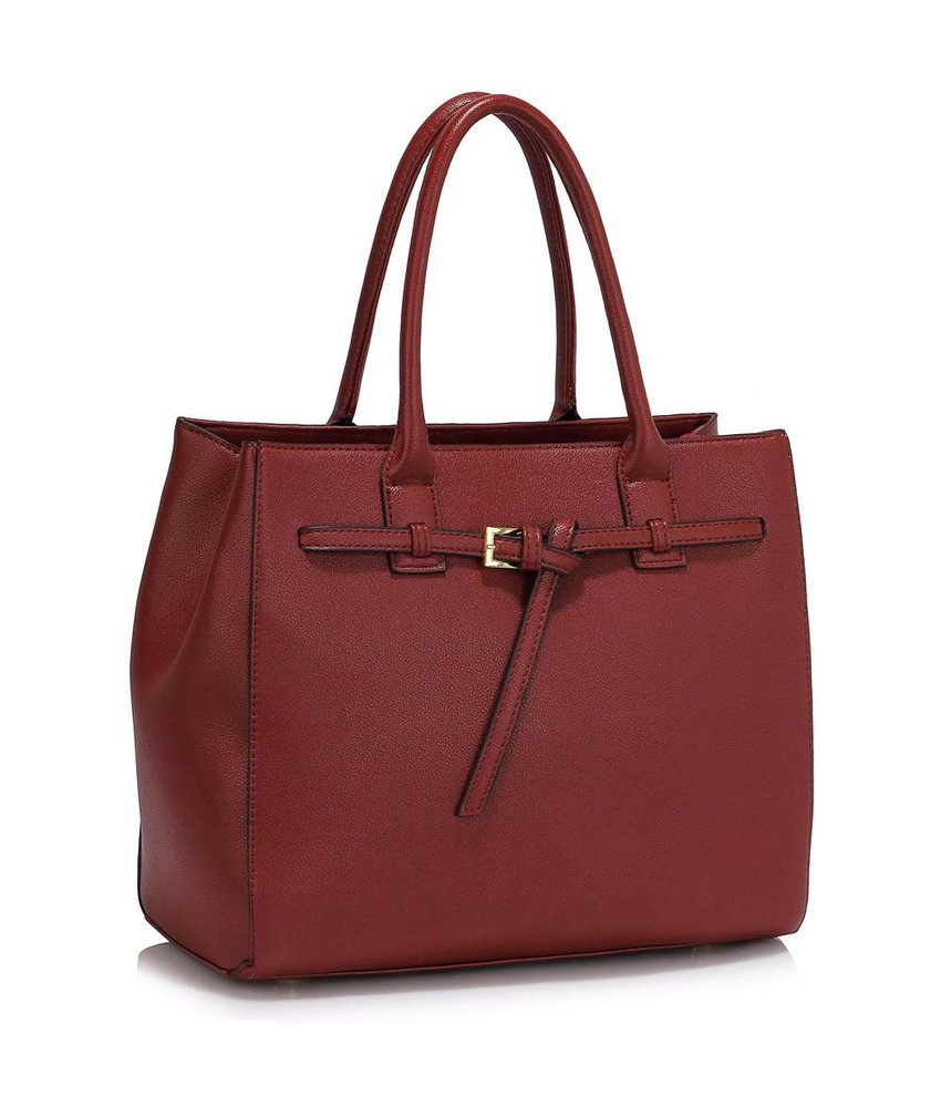 MT Not Afraid Bag Burgundy