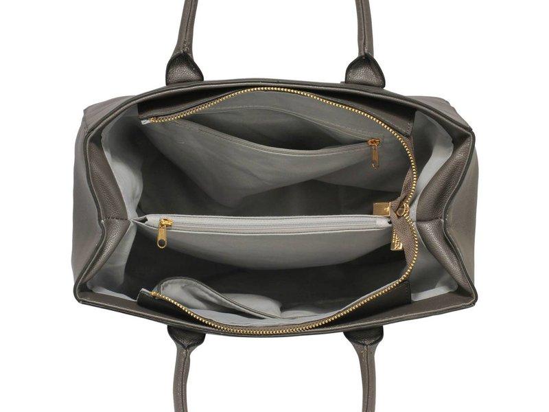 MT Not Afraid Bag Grey