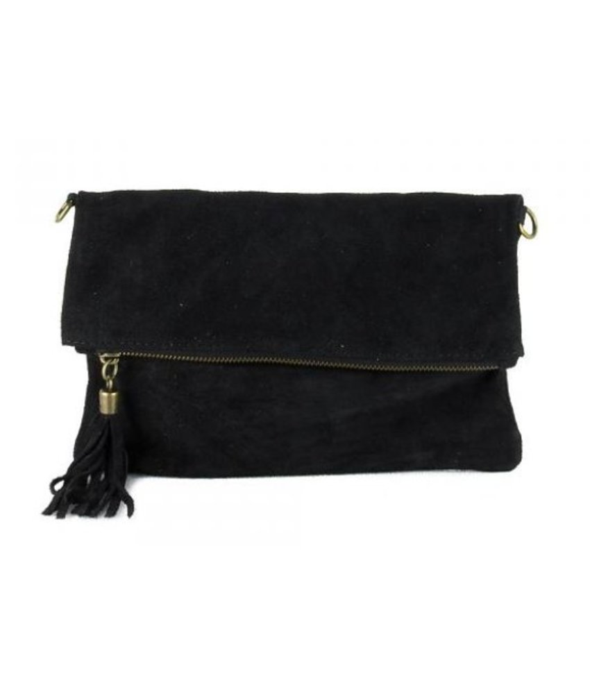 MT Little Suede Bag Black