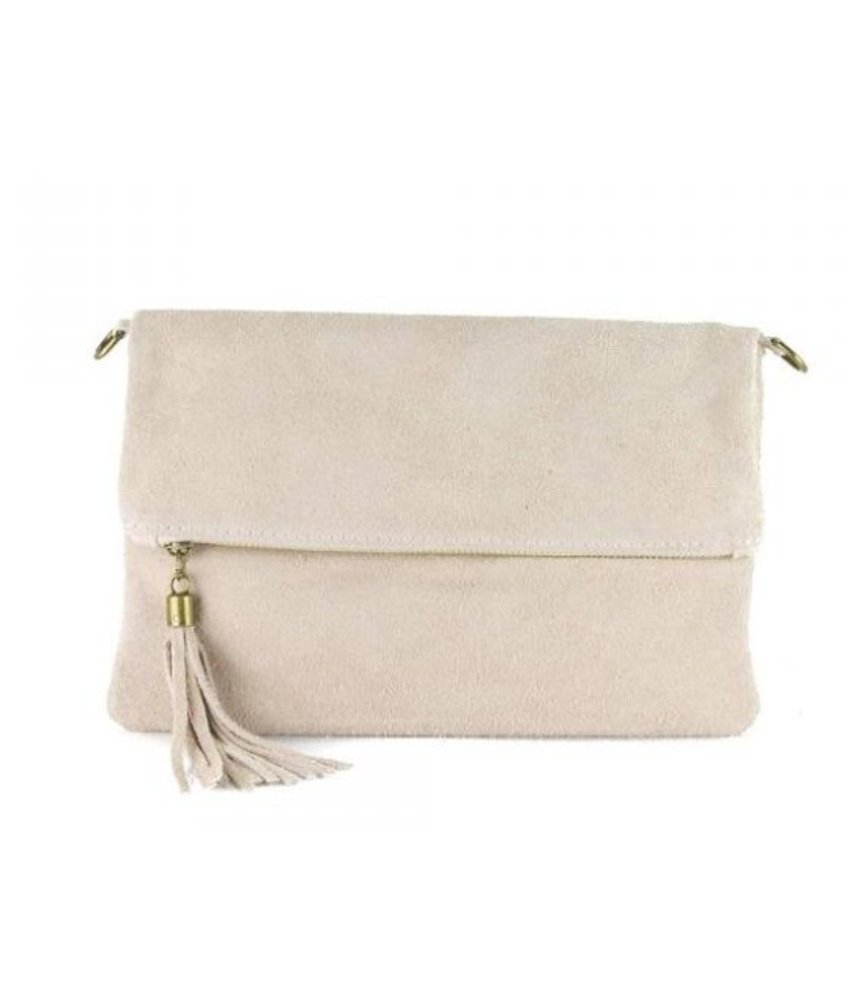 MT Little Suede Bag Powder Pink