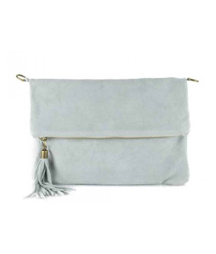 MT Little Suede Bag Grey