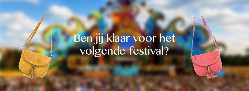 Het festival-tasje!
