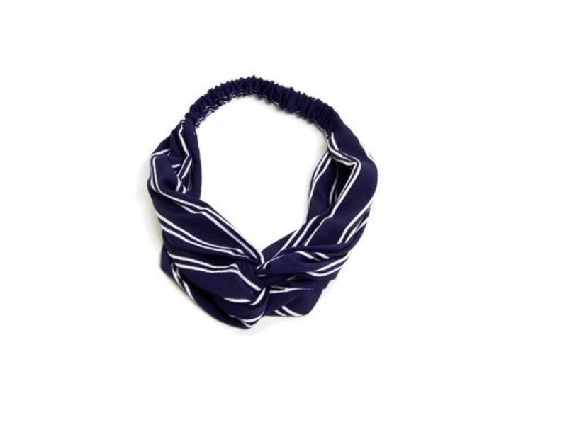 MT Headband Blue/White