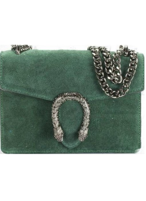 MT Nancy Suede Green