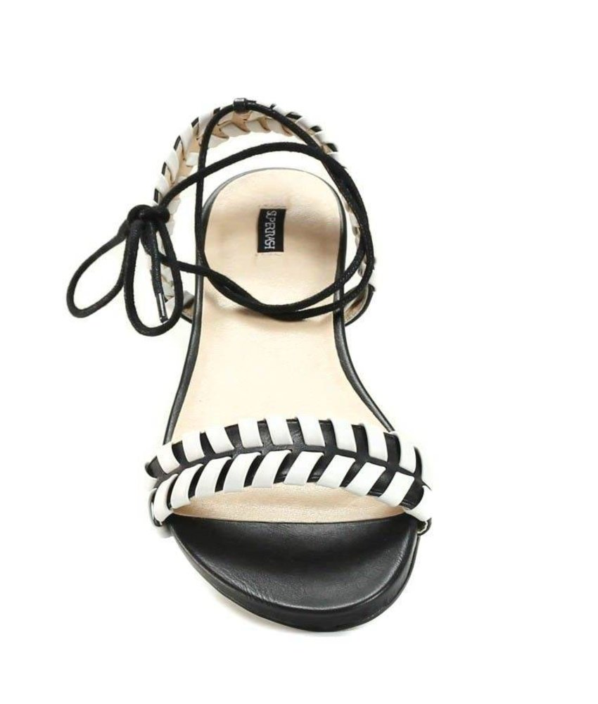 Supertrash Lou Braided Flat Gladiator 36