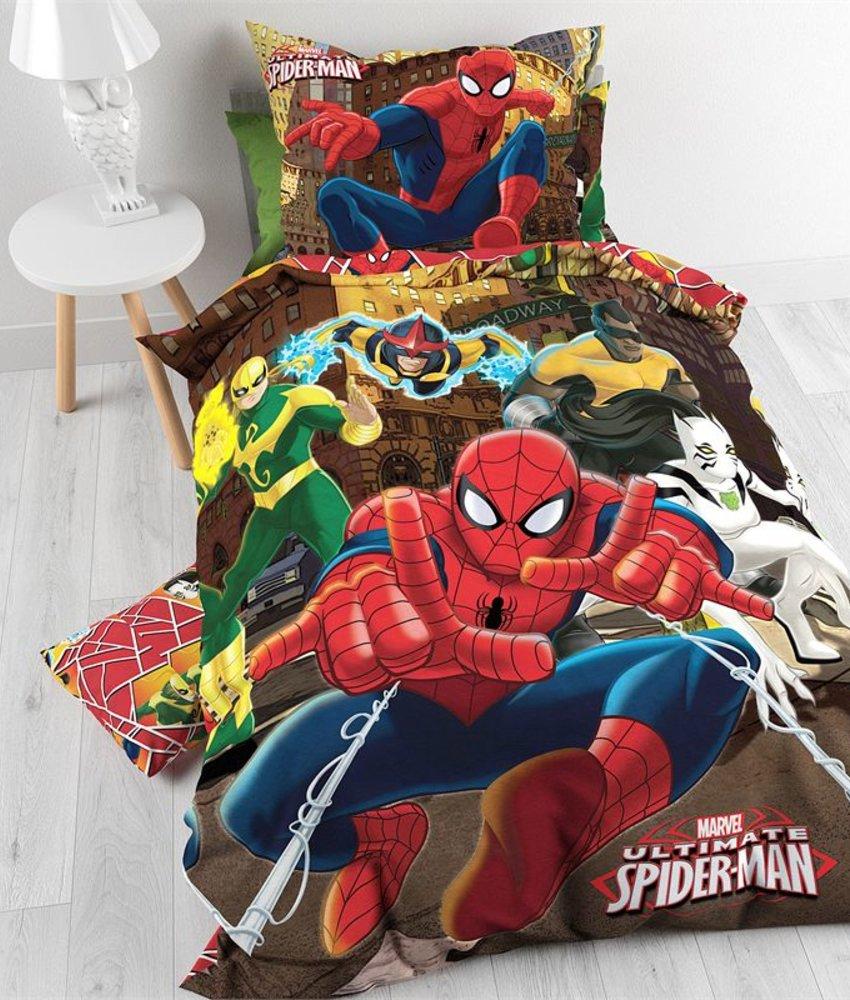 Kinderdekbedovertrek Spiderman Hero