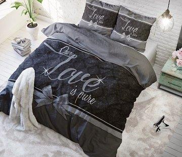 Sleeptime Pure Cotton Dekbedovertrek Pure Love Grey
